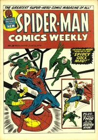Cover Thumbnail for Spider-Man Comics Weekly (Marvel UK, 1973 series) #18