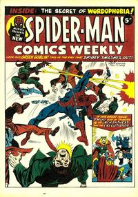 Cover Thumbnail for Spider-Man Comics Weekly (Marvel UK, 1973 series) #21