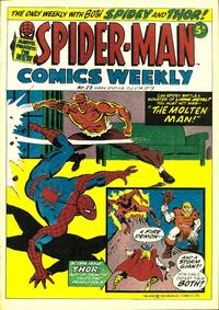 Cover Thumbnail for Spider-Man Comics Weekly (Marvel UK, 1973 series) #22