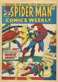 Cover Thumbnail for Spider-Man Comics Weekly (Marvel UK, 1973 series) #23