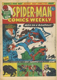 Cover Thumbnail for Spider-Man Comics Weekly (Marvel UK, 1973 series) #26
