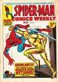 Cover Thumbnail for Spider-Man Comics Weekly (Marvel UK, 1973 series) #29