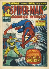 Cover Thumbnail for Spider-Man Comics Weekly (Marvel UK, 1973 series) #40
