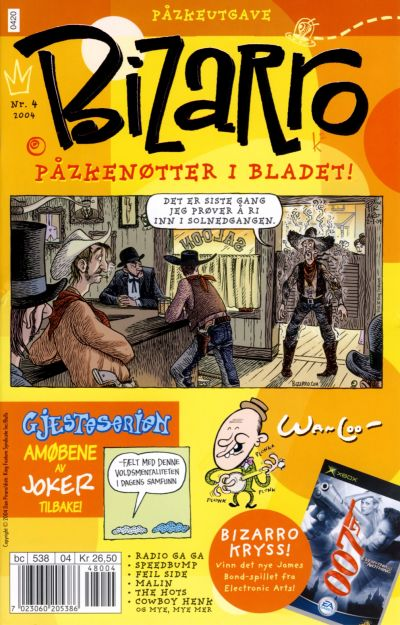 Cover for Bizarro (Hjemmet / Egmont, 2003 series) #4/2004