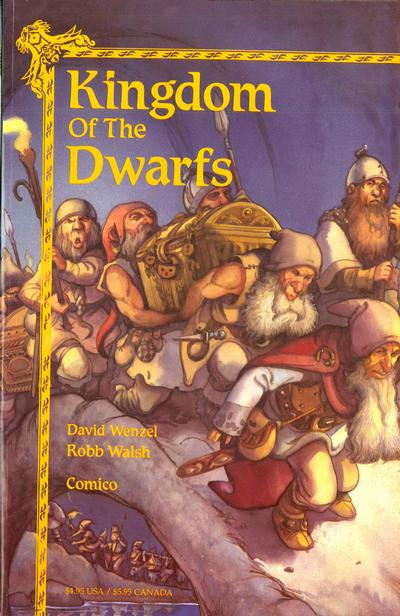 Cover for Kingdom of the Dwarfs (Comico, 1991 series) #1