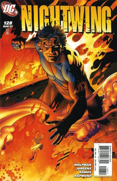 Cover for Nightwing (DC, 1996 series) #128