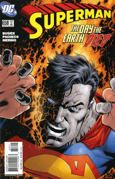 Cover for Superman (DC, 2006 series) #658
