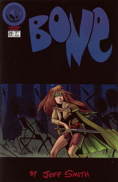 Cover for Bone (Cartoon Books, 1997 series) #26