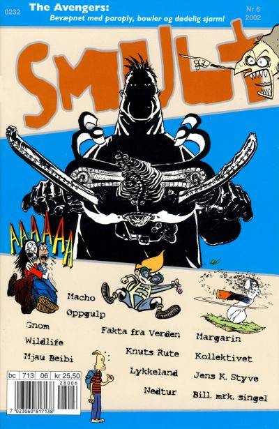 Cover for Smult (Bladkompaniet / Schibsted, 2002 series) #6/2002