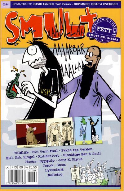 Cover for Smult (Bladkompaniet / Schibsted, 2002 series) #9/2002