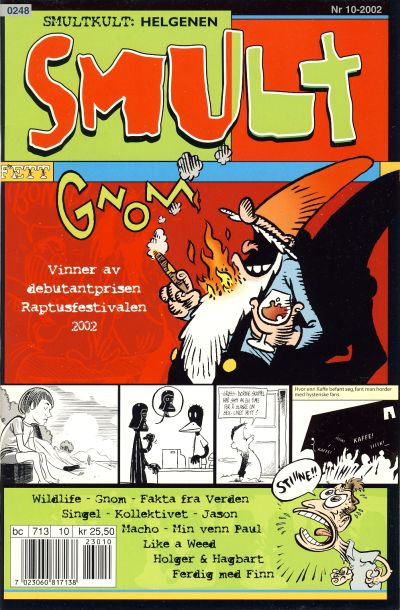 Cover for Smult (Bladkompaniet / Schibsted, 2002 series) #10/2002