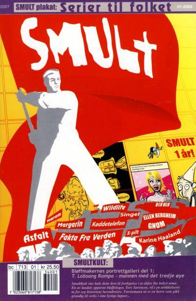 Cover for Smult (Bladkompaniet / Schibsted, 2002 series) #1/2003