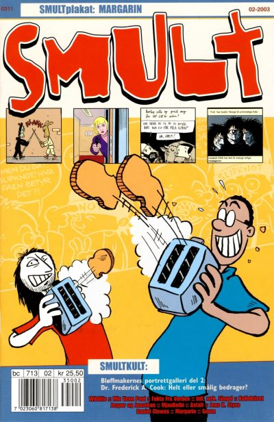 Cover for Smult (Bladkompaniet, 2002 series) #2/2003
