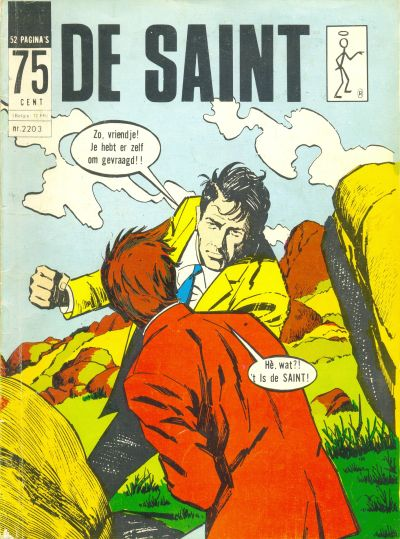 Cover for De Saint (Classics/Williams, 1967 series) #2203