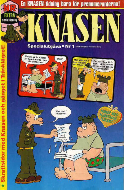Cover for Knasen specialutgåva (Semic, 1996 series) #1