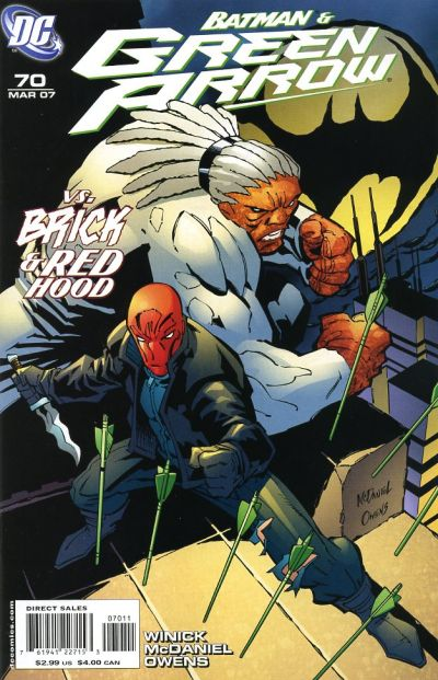 Cover for Green Arrow (DC, 2001 series) #70