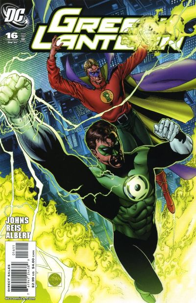 Cover for Green Lantern (DC, 2005 series) #16