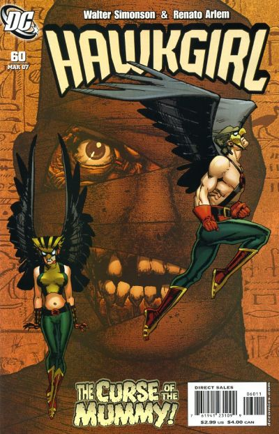 Cover for Hawkgirl (DC, 2006 series) #60