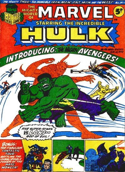 Cover for The Mighty World of Marvel (Marvel UK, 1972 series) #46