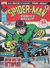 Cover for Spider-Man Comics Weekly (Marvel UK, 1973 series) #117