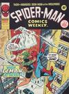 Cover for Spider-Man Comics Weekly (Marvel UK, 1973 series) #121