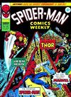Cover for Spider-Man Comics Weekly (Marvel UK, 1973 series) #136
