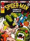 Cover for Spider-Man Comics Weekly (Marvel UK, 1973 series) #144