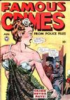 Cover for Famous Crimes (Fox, 1948 series) #2