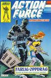 Cover for Action Force (Bladkompaniet / Schibsted, 1988 series) #8/1989