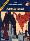 Cover for Adele (Semic, 1983 series) #1 - Adele og uhyret