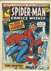 Cover Thumbnail for Spider-Man Comics Weekly (Marvel UK, 1973 series) #46