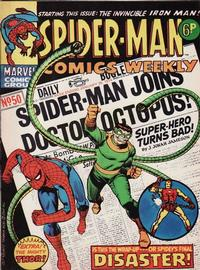 Cover Thumbnail for Spider-Man Comics Weekly (Marvel UK, 1973 series) #50