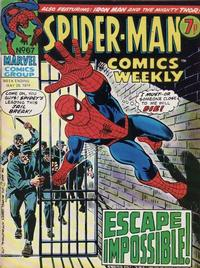Cover Thumbnail for Spider-Man Comics Weekly (Marvel UK, 1973 series) #67