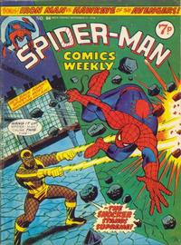 Cover Thumbnail for Spider-Man Comics Weekly (Marvel UK, 1973 series) #84