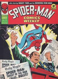 Cover Thumbnail for Spider-Man Comics Weekly (Marvel UK, 1973 series) #119