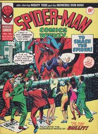 Cover Thumbnail for Spider-Man Comics Weekly (Marvel UK, 1973 series) #120