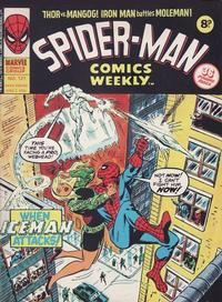 Cover Thumbnail for Spider-Man Comics Weekly (Marvel UK, 1973 series) #121