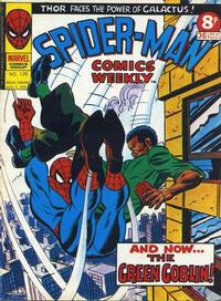 Cover Thumbnail for Spider-Man Comics Weekly (Marvel UK, 1973 series) #129