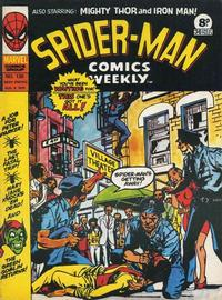 Cover Thumbnail for Spider-Man Comics Weekly (Marvel UK, 1973 series) #130