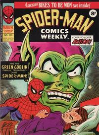 Cover Thumbnail for Spider-Man Comics Weekly (Marvel UK, 1973 series) #133
