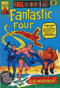 Cover Thumbnail for Fantastic Four (Newton Comics, 1974 series) #3