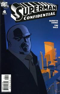 Cover Thumbnail for Superman Confidential (DC, 2007 series) #4 [Direct Sales]