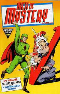 Cover Thumbnail for Men of Mystery Comics (AC, 1999 series) #58