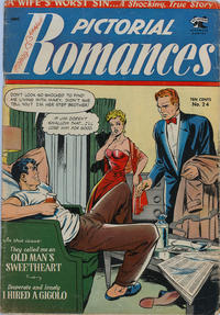 Cover Thumbnail for Pictorial Romances (St. John, 1950 series) #24