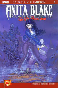Cover Thumbnail for Anita Blake: Vampire Hunter in Guilty Pleasures (Marvel, 2006 series) #1 [wraparound]