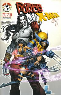 Cover Thumbnail for Cyberforce / X-Men (Image, 2007 series) #1 [Marc Silvestri Cover]