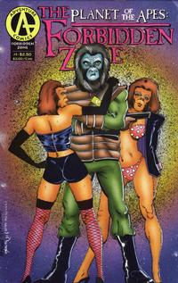 Cover Thumbnail for Planet of the Apes: The Forbidden Zone (Malibu, 1992 series) #1