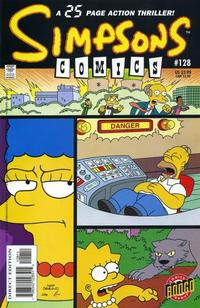 Cover Thumbnail for Simpsons Comics (Bongo, 1993 series) #128