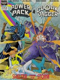 Cover Thumbnail for Marvel Graphic Novel: Cloak and Dagger and Power Pack: Shelter from the Storm (Marvel, 1989 series)