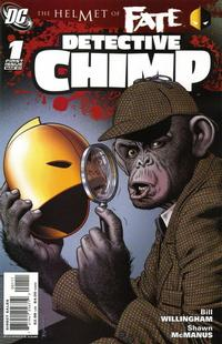 Cover Thumbnail for Helmet of Fate: Detective Chimp (DC, 2007 series) #1
